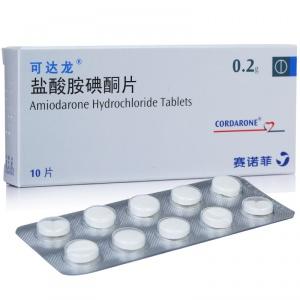 可达龙 盐酸胺碘酮片 0.2g*10片