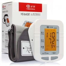 鱼跃 臂式电子血压计 YE660E (带电源) 1台