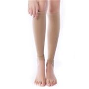 舒尔美 医用弹力袜 一级小腿袜 厚款 1双(XL,肉色) SMK101441/601N-XL(厂家直发)