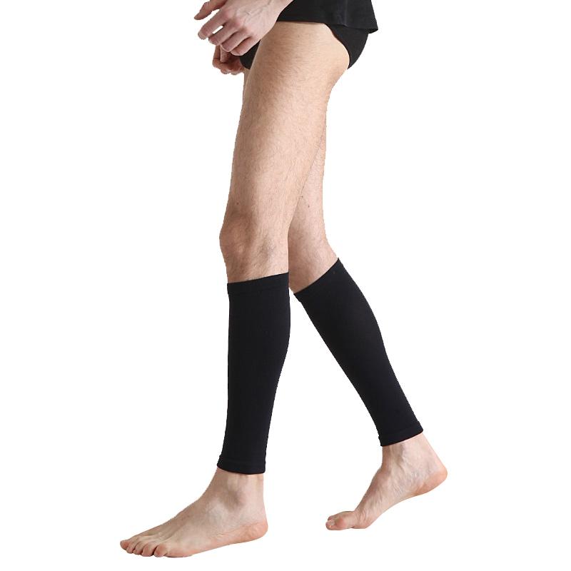 舒尔美 医用弹力袜 一级小腿袜 厚款 1双(XXL,黑色) SMK101451/501B-XXL(厂家直发)