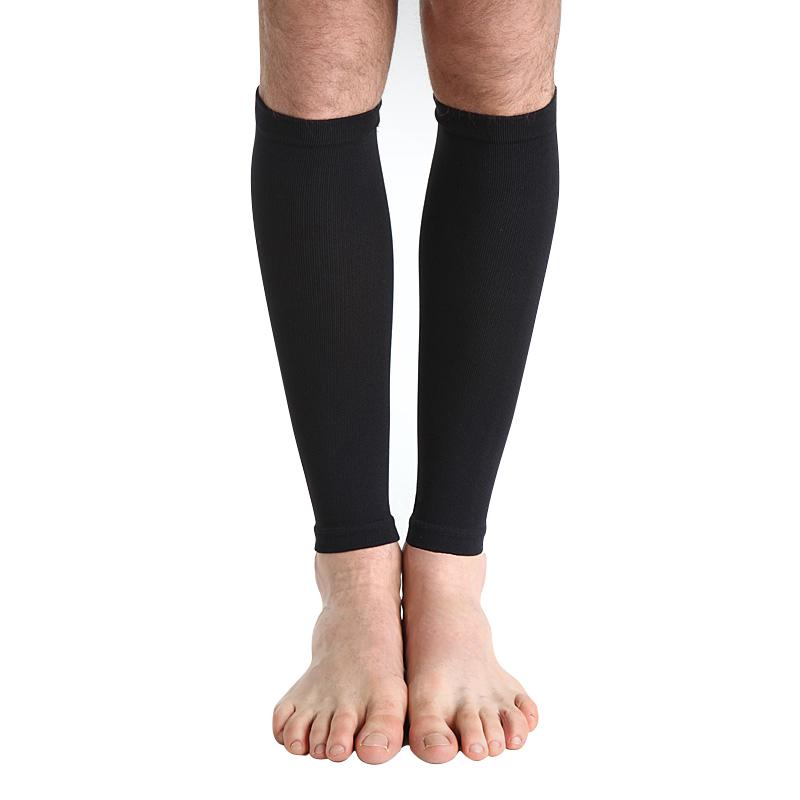 舒尔美 医用弹力袜 二级小腿袜 厚款 1双(L,黑色)502B-L SMK101531/(厂家直发)