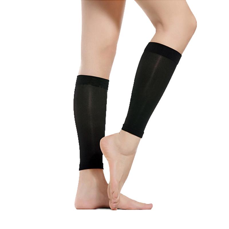 舒尔美 医用弹力袜 二级小腿袜 薄款 1双(XL,黑色) SMK101541/702B-XL(厂家直发)