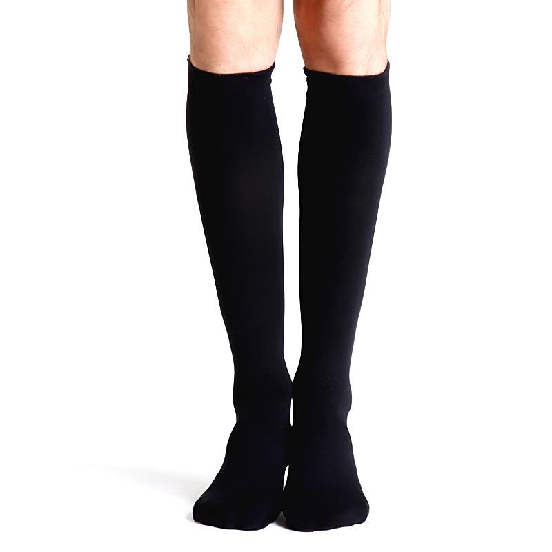 舒尔美 医用弹力袜 二级小腿袜 包趾厚款 1双(XXL,黑色) SMK005951/ADXXL512B(厂家直发)