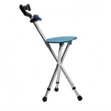雅德 拐杖凳 YC8105DTL (可调节高度) 铝合金 (蓝色带灯带按摩功能) 1张(厂家直发)