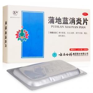 云丰 蒲地蓝消炎片(薄膜衣片) 0.3g*24片*2板
