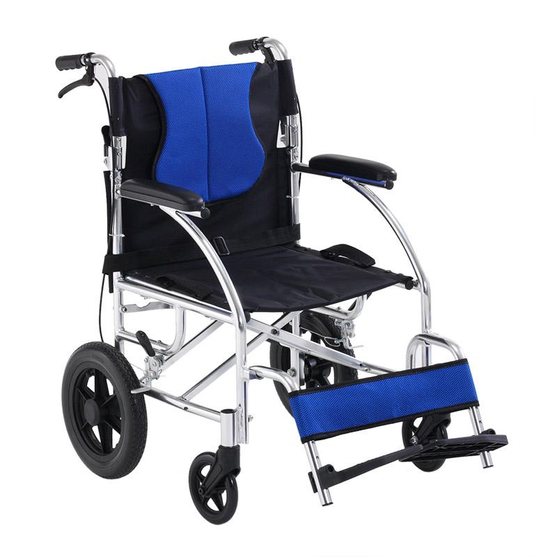 雅德 手动轮椅车YC2000蓝色