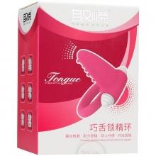 爱巢取悦 巧舌锁精环 活力红 1个/盒