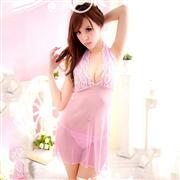 史黛絲 情趣內衣 1312 粉色裙裝 1套