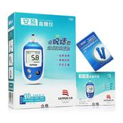 三諾 安易血糖儀 (免調碼) 1臺機器+1支采血筆+50支試紙+50個針頭