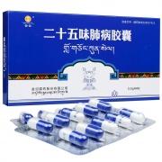 金诃 二十五味肺病胶囊 0.33g*10粒*2板*3盒