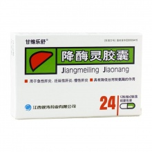 甘维乐舒 降酶灵胶囊 0.15g*24粒
