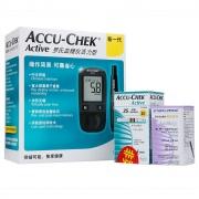 罗氏 活力型血糖仪套装 1台血糖仪(含配套)+25片试纸+25个针头