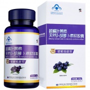 修正 越橘葉黃素天然β-胡蘿卜素軟膠囊 30g(0.5g*60粒)