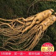 康美 鲜人参 50g/支(厂家直发)