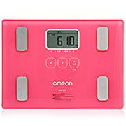 歐姆龍 體重身體脂肪測量器 HBF-212 玫紅 1臺