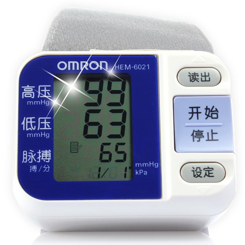歐姆龍 手腕式電子血壓計 HEM-6021 1臺