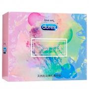 杜蕾斯 冰清玉潤避孕套 (AiR空氣快感三合一16只+love3只+緊型超薄4只+AiR1只*3盒) 26只裝