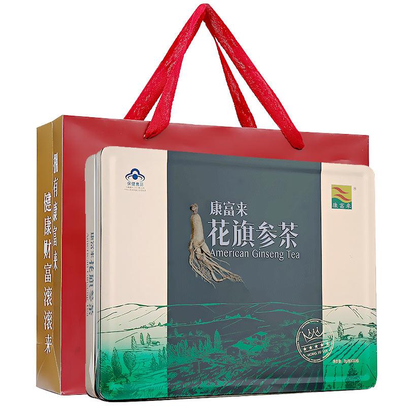 康富来 花旗参茶(附礼盒袋)