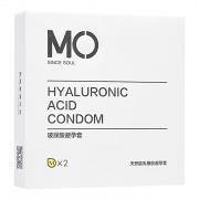 名流 MO潤滑超薄避孕套 2片