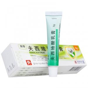 奥络 夫西地酸乳膏 5g(5g:0.1g)