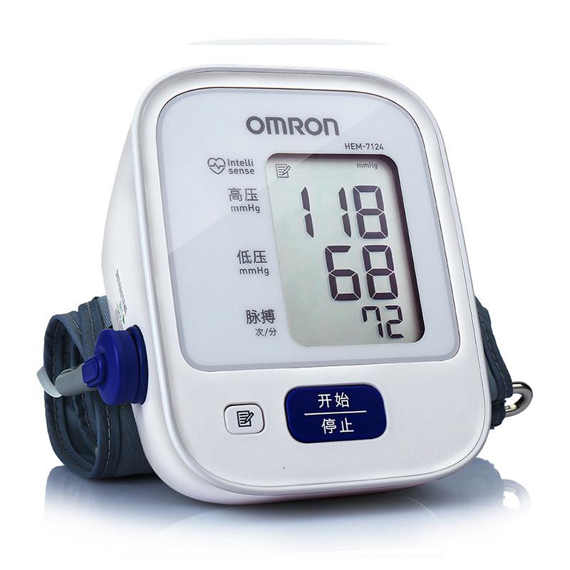 歐姆龍 上臂式電子血壓計 HEM-7124 (送電源) 1臺