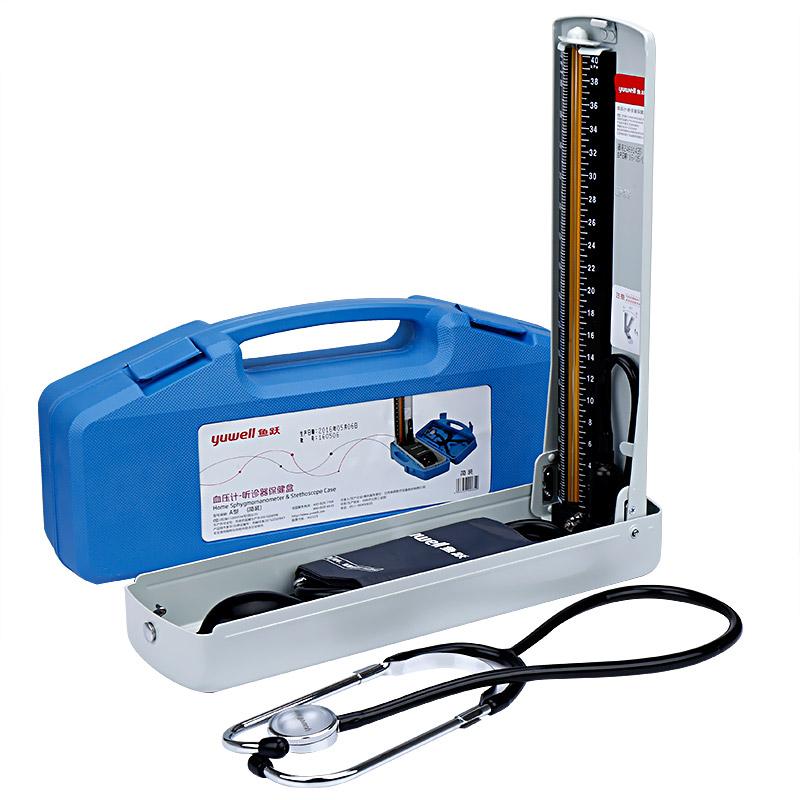 魚躍 血壓計-聽診器保健盒 A型 簡裝 1盒