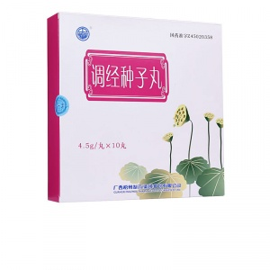 中华 调经种子丸 4.5g*10丸