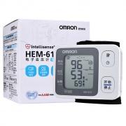 欧姆龙 手腕式电子血压计 HEM-6131 1台