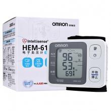 歐姆龍 手腕式電子血壓計 HEM-6131 1臺