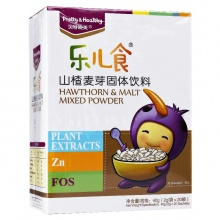 貝特曉芙 樂兒食山楂麥芽固體飲料 40g(2g*20袋)
