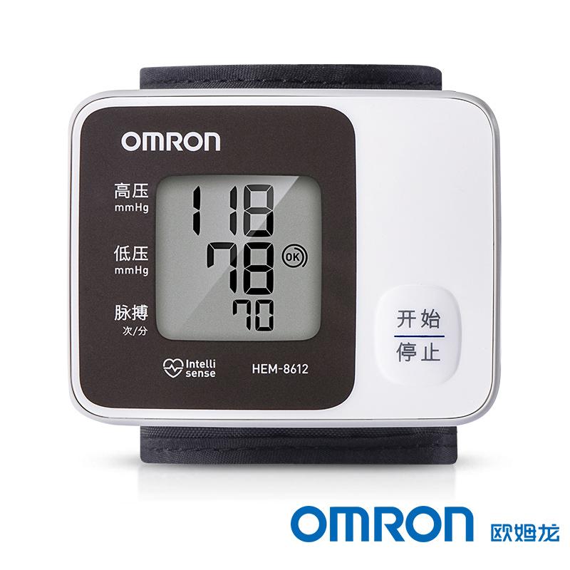 歐姆龍 手腕式電子血壓計 HEM-8612 1臺