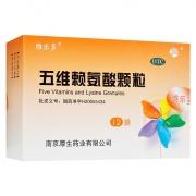 維樂多 五維賴氨酸顆粒 5g*12袋