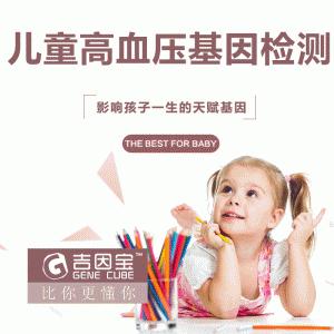 吉因宝 儿童高血压基因检测 1次(厂家直发)