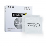 杰士邦 ZERO零感超薄避孕套 3只