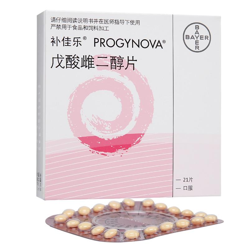 补佳乐 戊酸雌二醇片