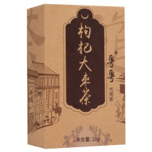 粤粤 枸杞大枣茶(代用茶) 18g(3g*6袋)