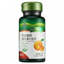 百合康 百合康牌维生素C含片 36g(1.2g*30片)