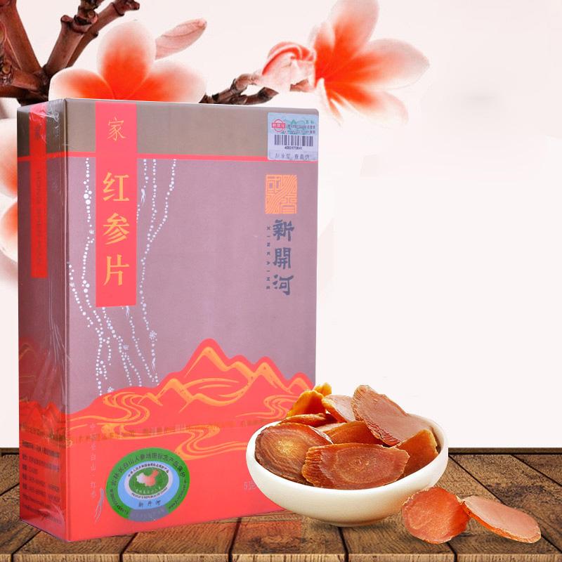 新开河 红参片 5g*5袋