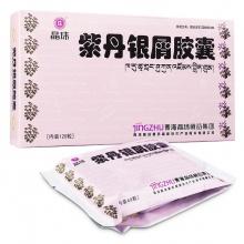晶珠 紫丹银屑胶囊 0.5g*120粒