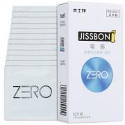 杰士邦 ZERO零感超薄超润避孕套 12只装