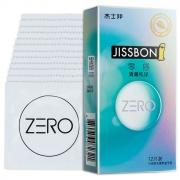 杰士邦 ZERO零感清薄纯净避孕套 12只装