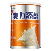 麦力添能 蛋白固体饮料(香草味) 愉悦橙 480g