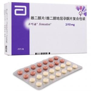芬吗通 雌二醇片/雌二醇地屈孕酮片复合包装 (2mg:2mg:10mg)*28片