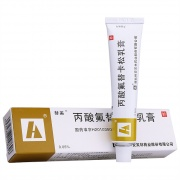 替美 丙酸氟替卡松乳膏 0.05%:15g