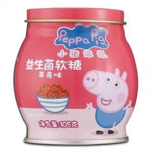 小猪佩奇 益生菌软糖(草莓味) 105g