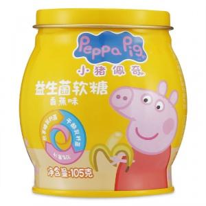 小猪佩奇 益生菌软糖(香蕉味) 105g