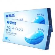 海昌 AQUA CLEAR优氧软性亲水接触镜半年抛 Care-4 2片装