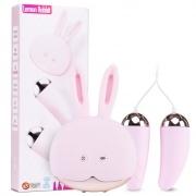 Wanle万乐 兔子跳蛋+跳蛋 粉色 1个+2个