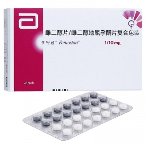 芬吗通 雌二醇片/雌二醇地屈孕酮片复合包装 (1mg:1mg:10mg)*28片