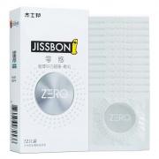 杰士邦 ZERO零感超薄顆粒避孕套 12只裝